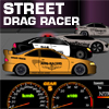 Street drag race the super car…