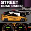 Street drag race the super car…